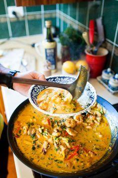 Brazilian seafood stew (mariscada) recipe : SBS Food #seafoodstew