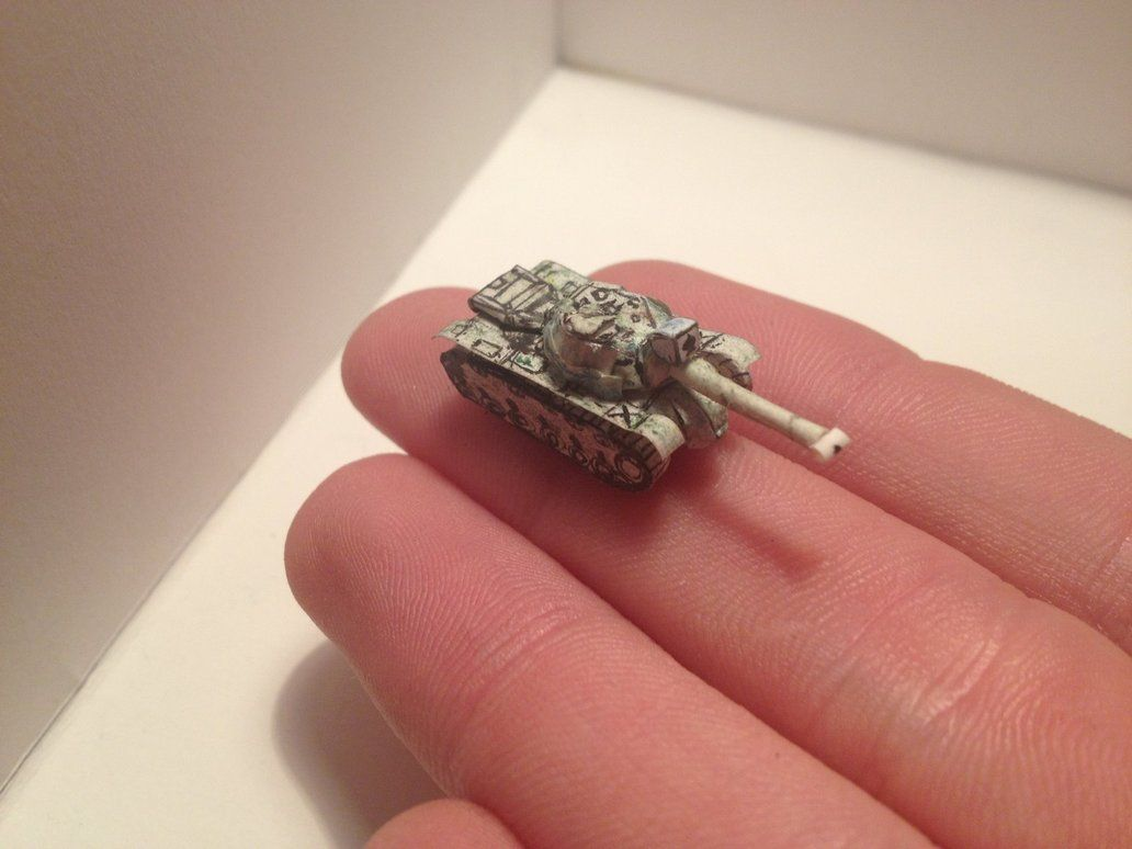 M48 Patton Papercraft by BigAngryCat on DeviantArt | Papercraftiana ...