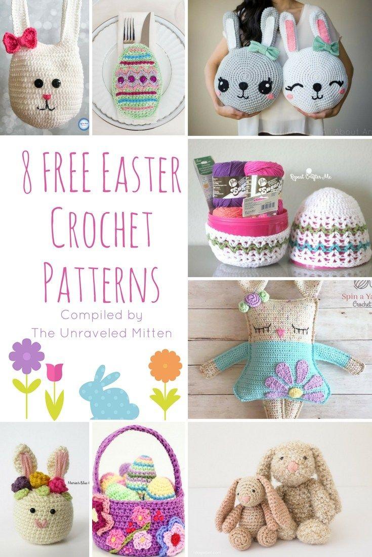 8 Free Easter Crochet Patterns | Crochet - Seasonal | Pinterest ...