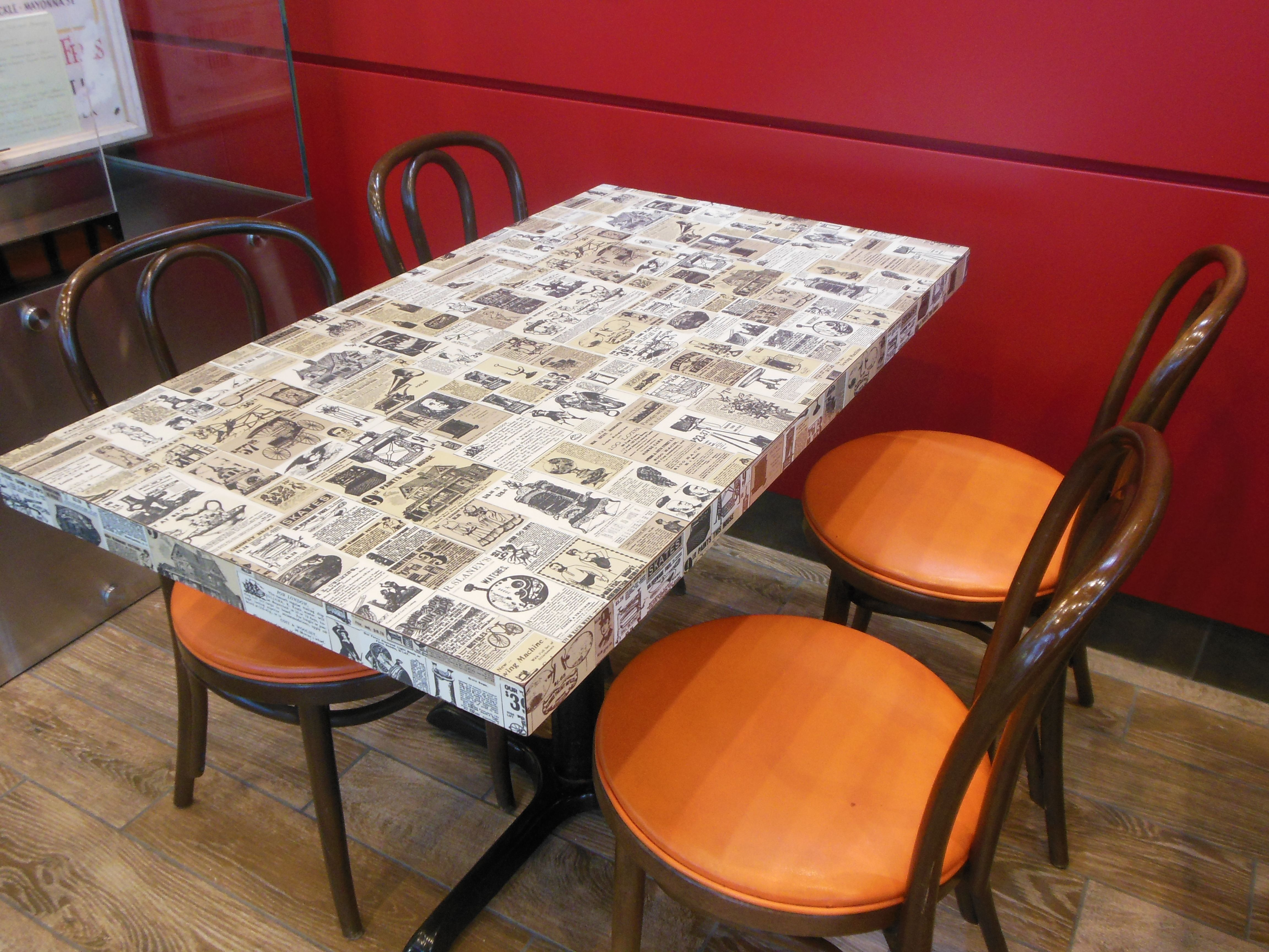 Used tables and chairs for restaurant - Used Tables And Chairs For Restaurant Vintage Wendy S Fast Food Table Chairs Used To
