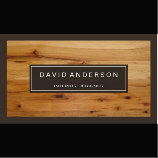 Professional modern wood grain look business card wood grain professional modern wood grain look business card reheart Image collections