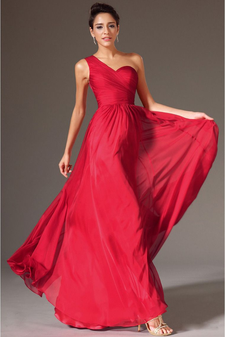 2014 one shoulder pleated bodice lace back a line prom