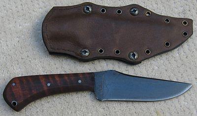 Dan Winkler Hand Forged Navy Seal Knife Knife Survival Knife