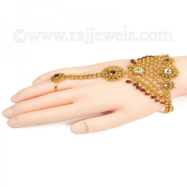 Suhaag Hath Punja Hand Chain Hand Chain Jewelry Hand Chain Bracelet