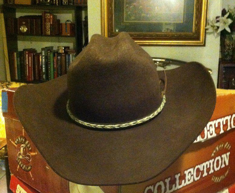 Master haters sz 7 brown 3xbeaver 4 brim 5 crown western