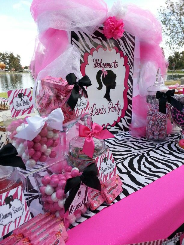 Awesome Pin On Barbie Party Interior Design Ideas Clesiryabchikinfo