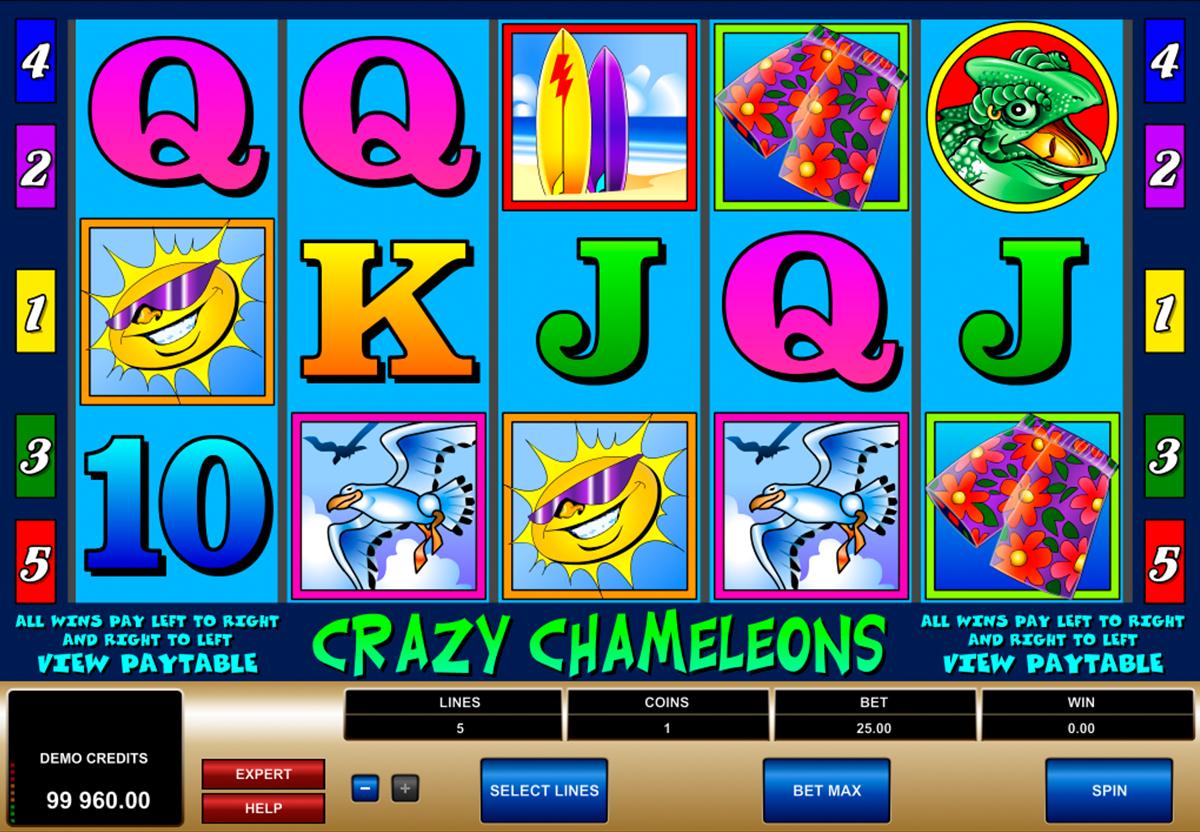 Spiele Kameleon - Video Slots Online