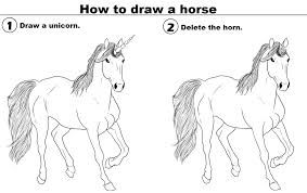 how to draw a horse - Google Search