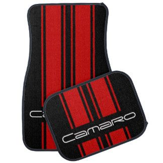 Chevy Camaro Use Customize To Change Color Car Mat With
