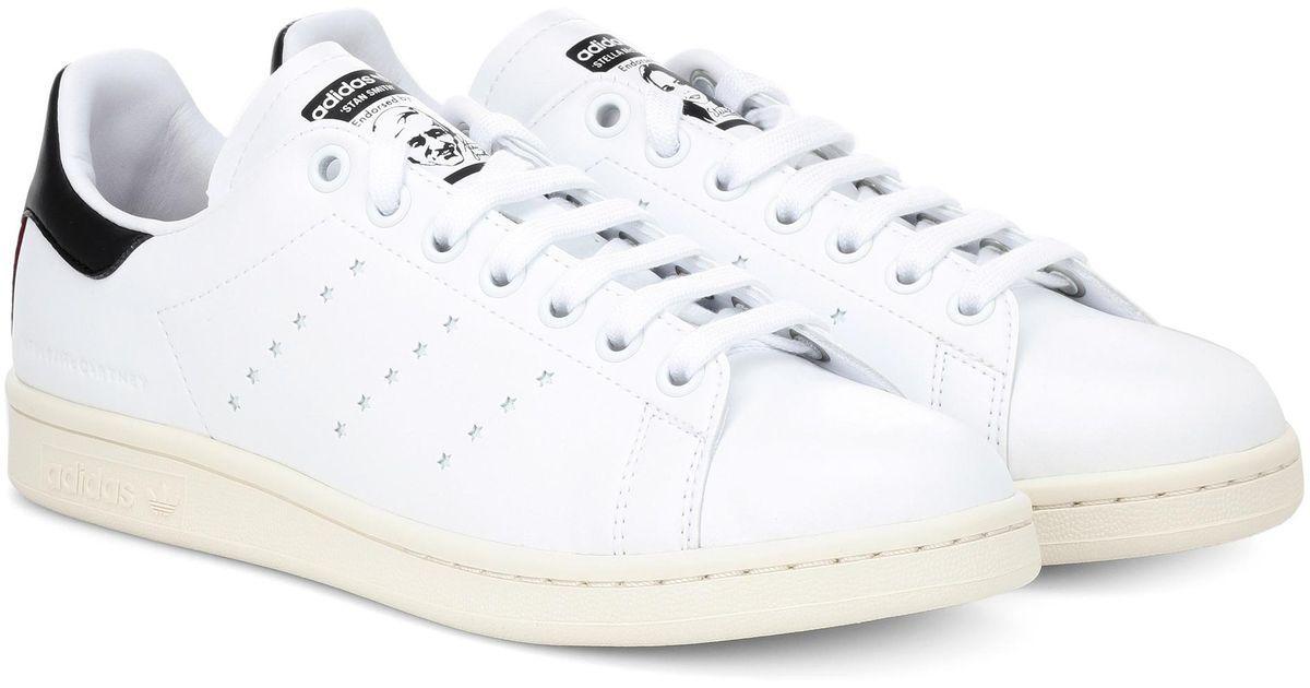 f3ded3aebf4 Stella McCartney - White Stan Smith Sneakers - Lyst