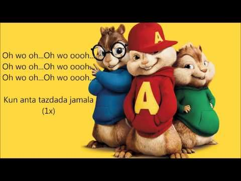 Humood Alkhunder Kun Anta كن أنت Lyrics Chipmunks Youtube