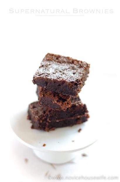 Supernatural Brownies - The Novice Housewife