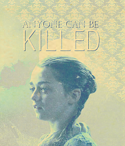 Syrio Forel Arya, child, we are done with dancing for