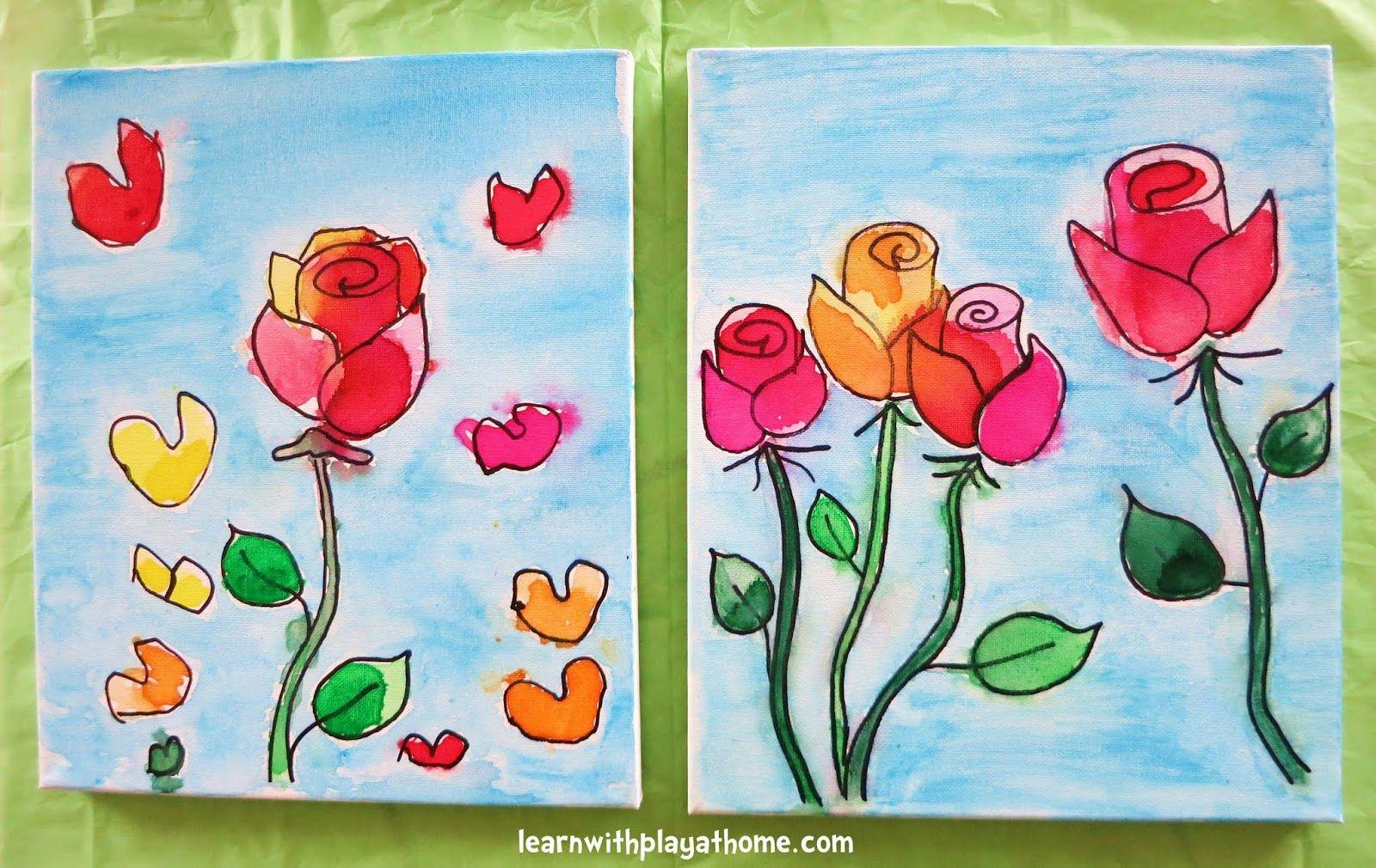Kids Painting Ideas On Canvas
