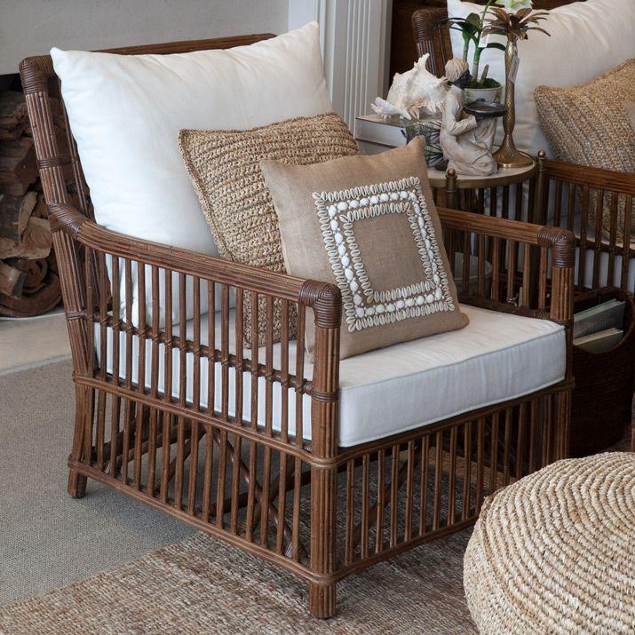 Bermuda Armchair Brown is part of Rattan furniture living room -