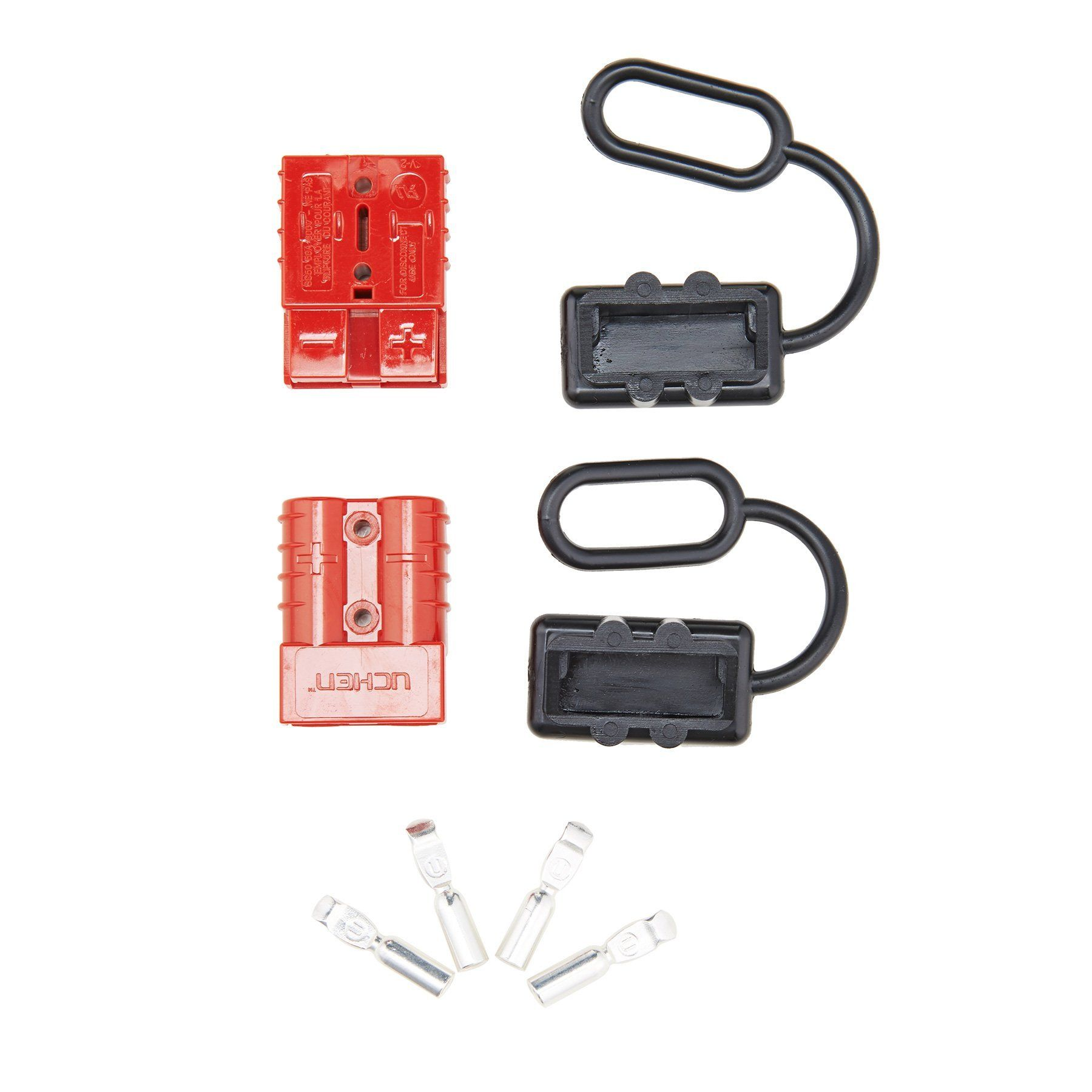orion motor tech 68 gauge battery quick connect disconnect wire harness plug kit for recovery [ 1800 x 1800 Pixel ]