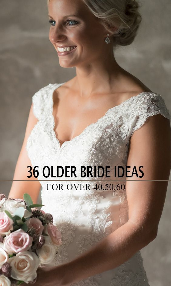 2aaa833852 Here we have some tips on how to choose wedding dresses for brides over  40
