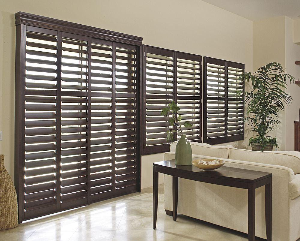 Persiana de madera cortinas persianas pinterest - Persianas de madera exteriores ...
