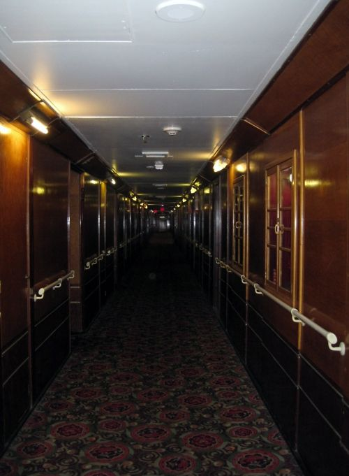 Queen Mary Ship Hauntings The Which Is Now A Hotel In Long Beach Ca Has