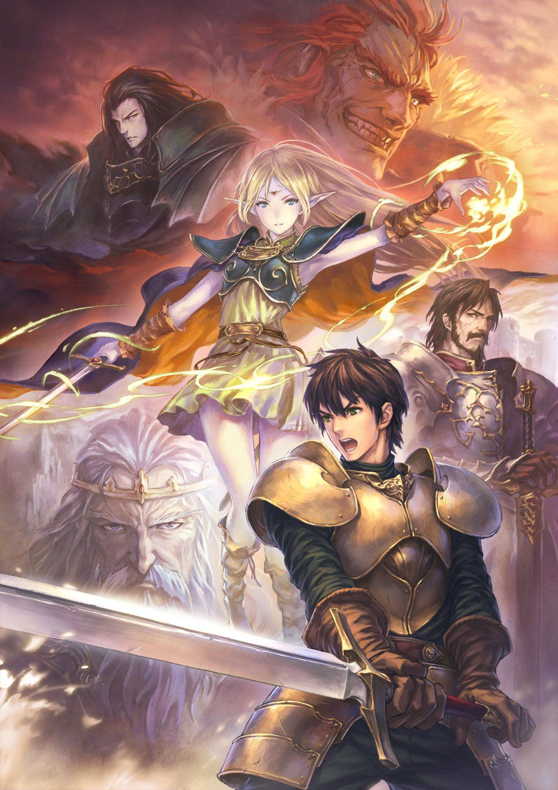Record Of Lodoss War Online Will Be Released In The West Tomorrow