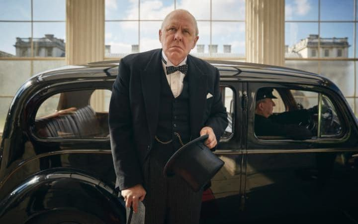 The Crown Serie Netflix- Winston Churchill