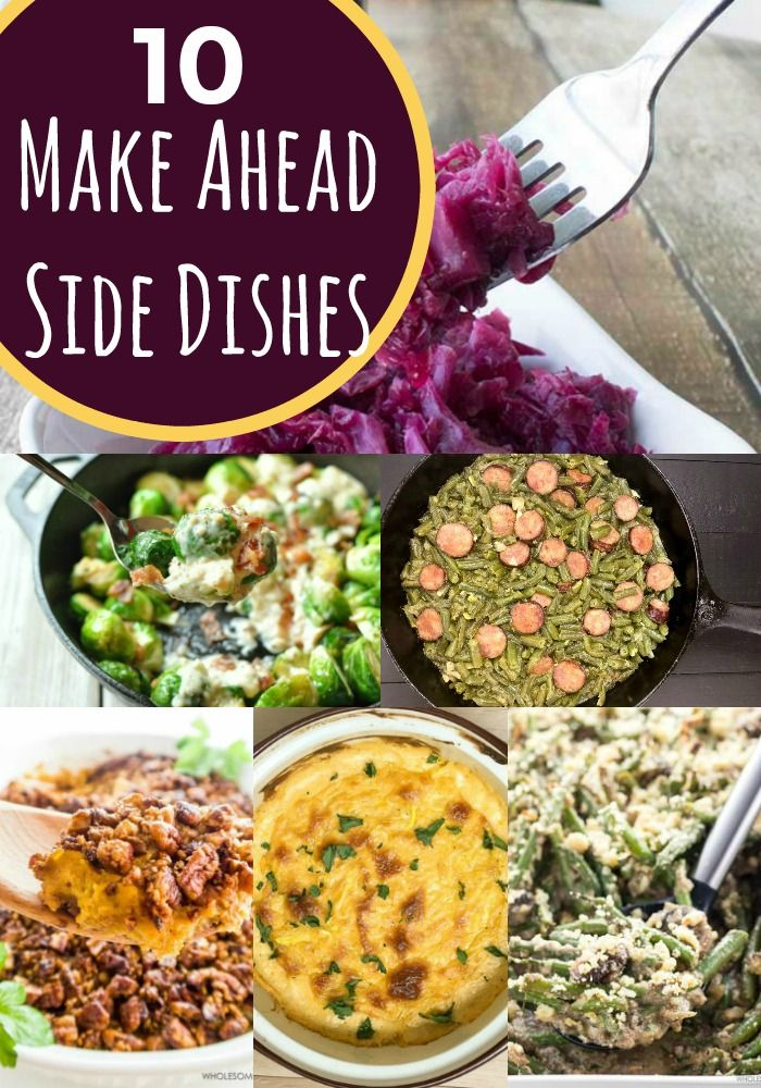 10 make ahead christmas side dishes parties and more pinterest recipes dishes and christmas side dishes - Christmas Side Dishes Pinterest
