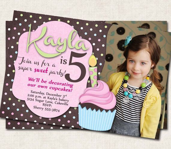 Two Year Old Birthday Invitations