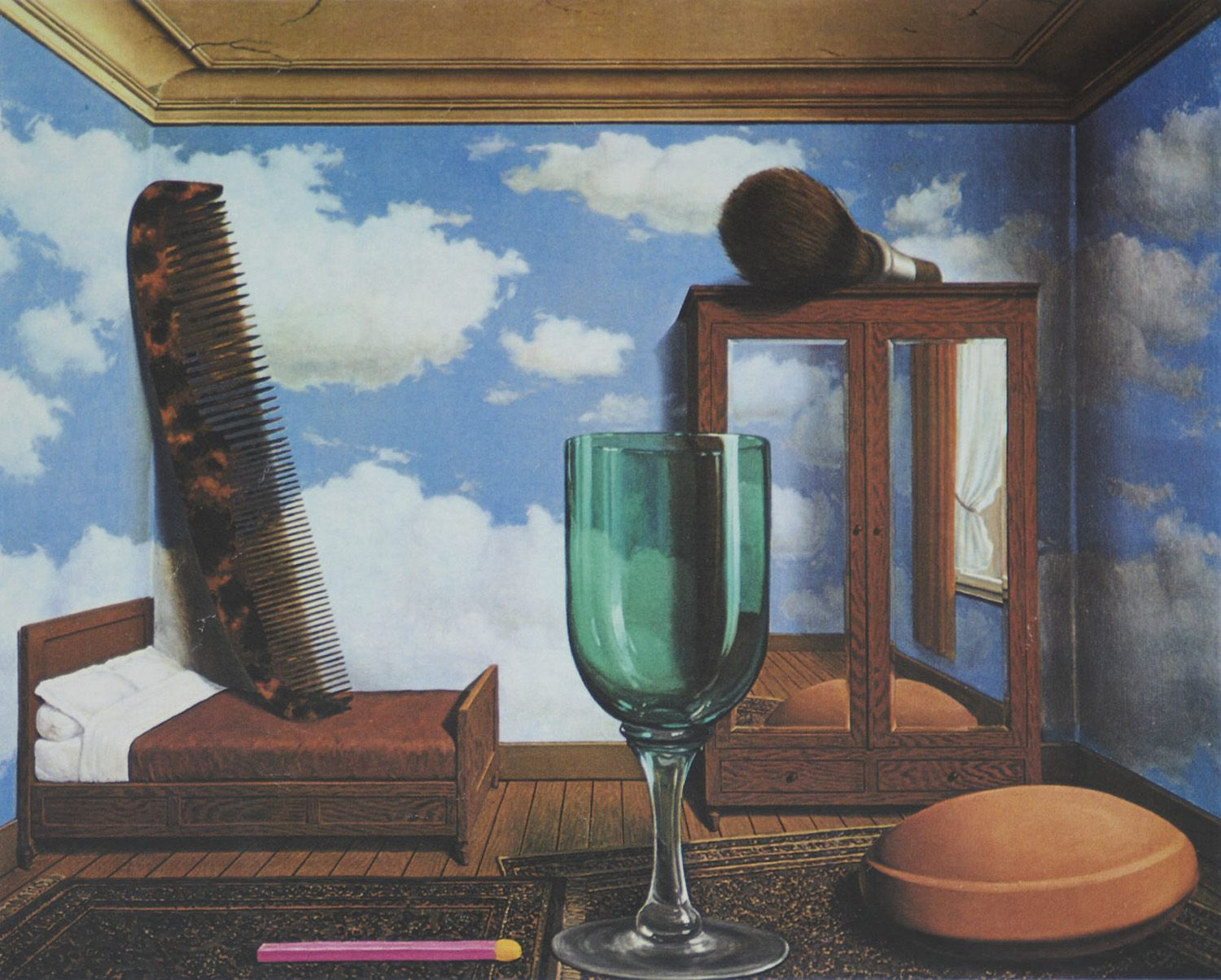 magritte  personal values 1952