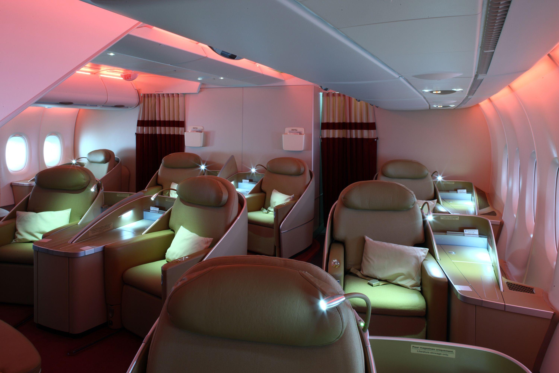 Air France La Première A380 Favorite Places and Spaces