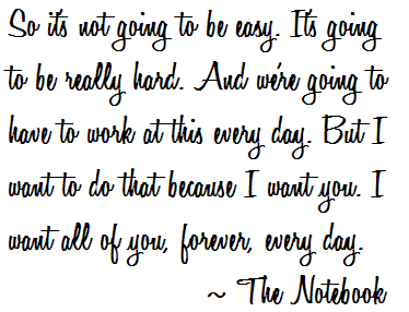 It won't be easy. Nothing amazing ever is. But it's worth it.