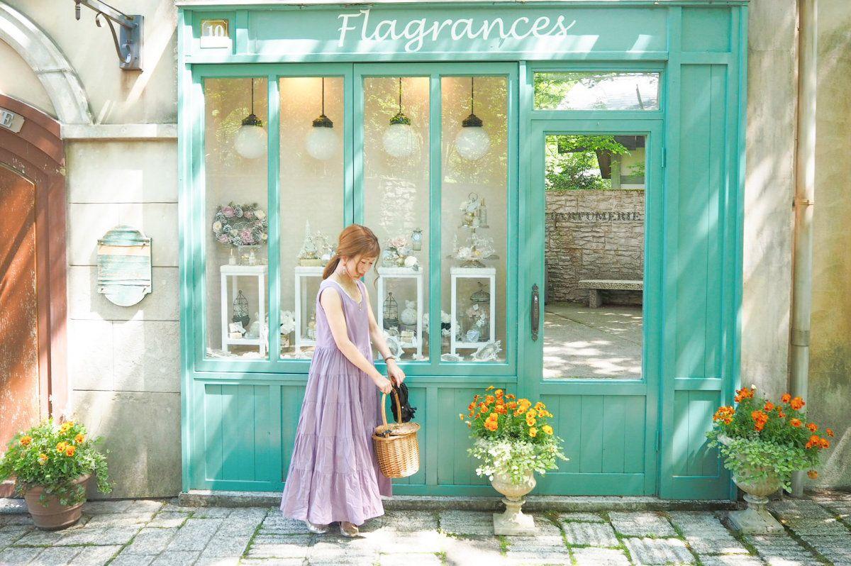 まるで南フランスに来たような可愛い建物 triproud 南フランス フランス まるかん