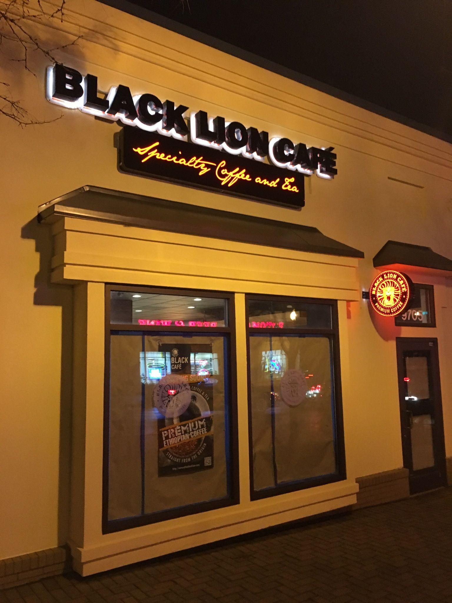Black Lion Cafe Near Univ Shady Grove Premium Coffee Broadway Shows Shady Grove