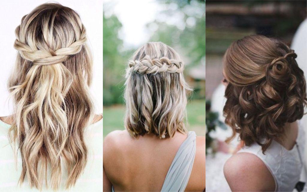 Peinados Para Bodas 77 Hermosas Ideas Para Novias E Invitadas Fotos Peinados Boda Pelo Corto Peinados Novia Pelo Corto Peinados