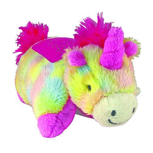 Mini Dream Lites Rainbow Unicorn Unicorn Pillow Pet Animal Pillows Rainbow Unicorn