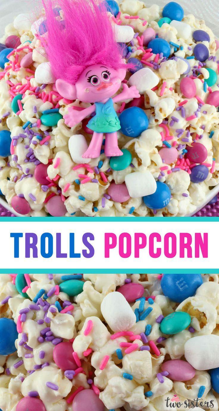 Trolls Popcorn - Two Sisters