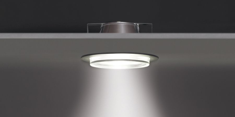 Pascala recessed downlight by rzb leuchten
