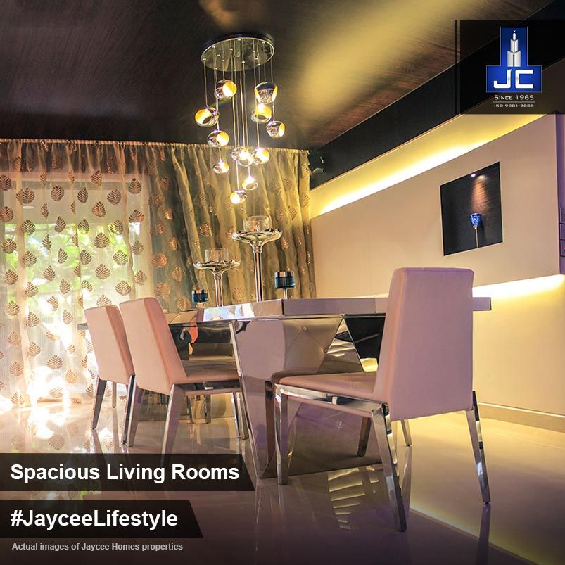 #JayceeHomes have lavish & spacious apartments with excellent style, creating the feel of luxury. #JayceeLifestyle.