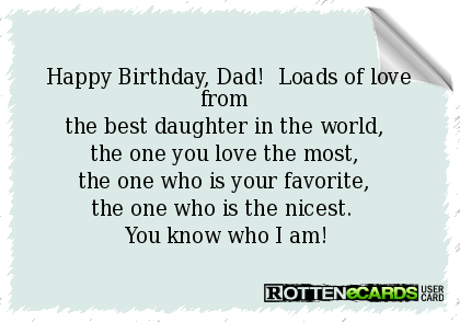 happy birthday dad from daughter google search quotes