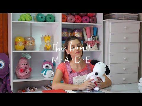 Amigurumi Tutorial Snoopy : Tutorial snoopy amigurumi how to crochet snoopy amigurumi