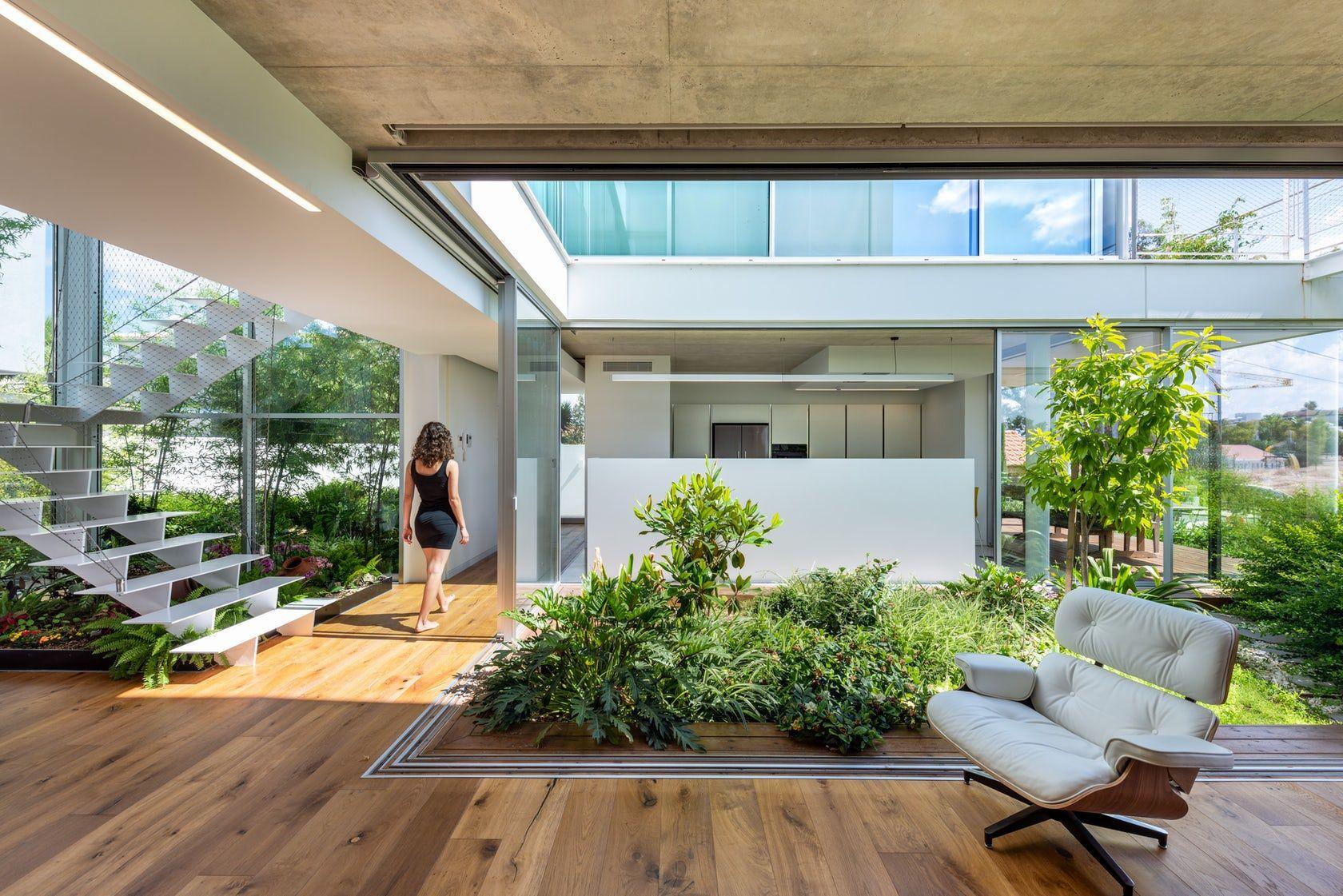 Idea 3065088 The Garden House In The City By Christos Pavlou Architecture In Nicosia Cyprus In 2020 Interior Garden Architecture Green Terrace
