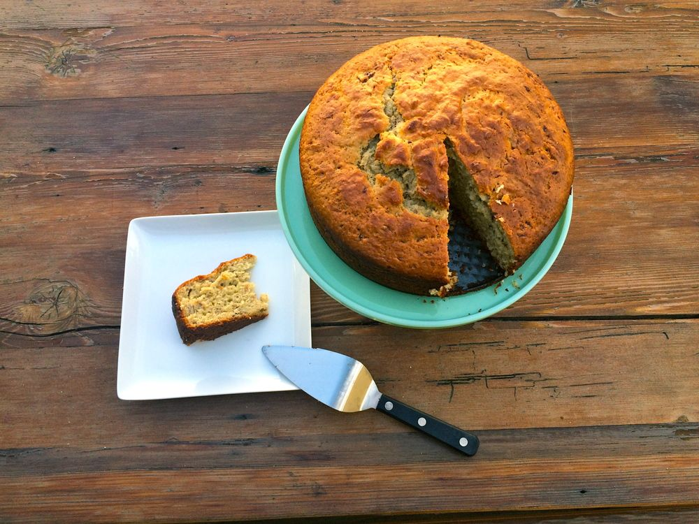 A Cake for Cooks: Yogurt + Olive Oil Blood Orange Cake — With A Grain of Salt
