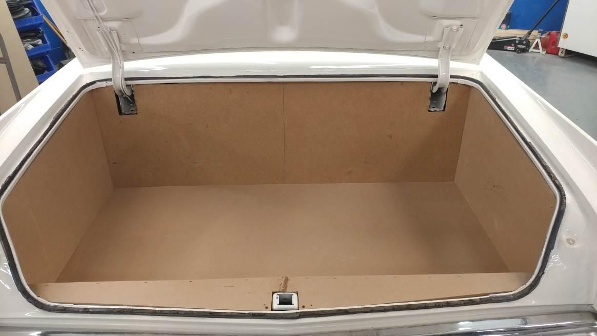 How S This For A Trunk Transformation The Team At Stereo In Dash South Recently Transformed The Tru Car Interior Upholstery Custom Car Interior Car Upholstery