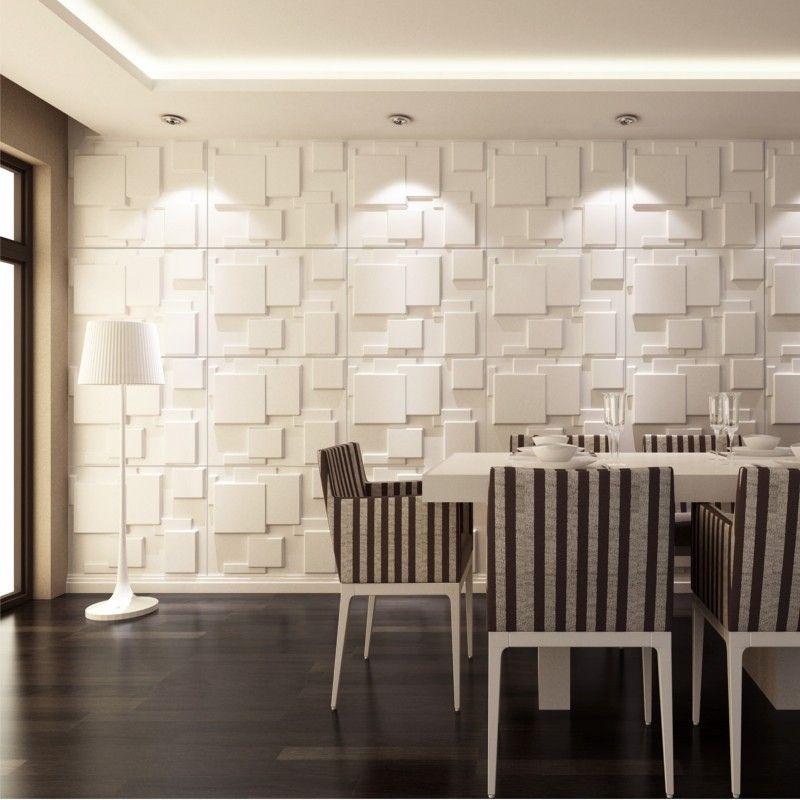 los paneles de pared 3d choc son ideales para crear espacios modernos y originales - Paneles De Pared
