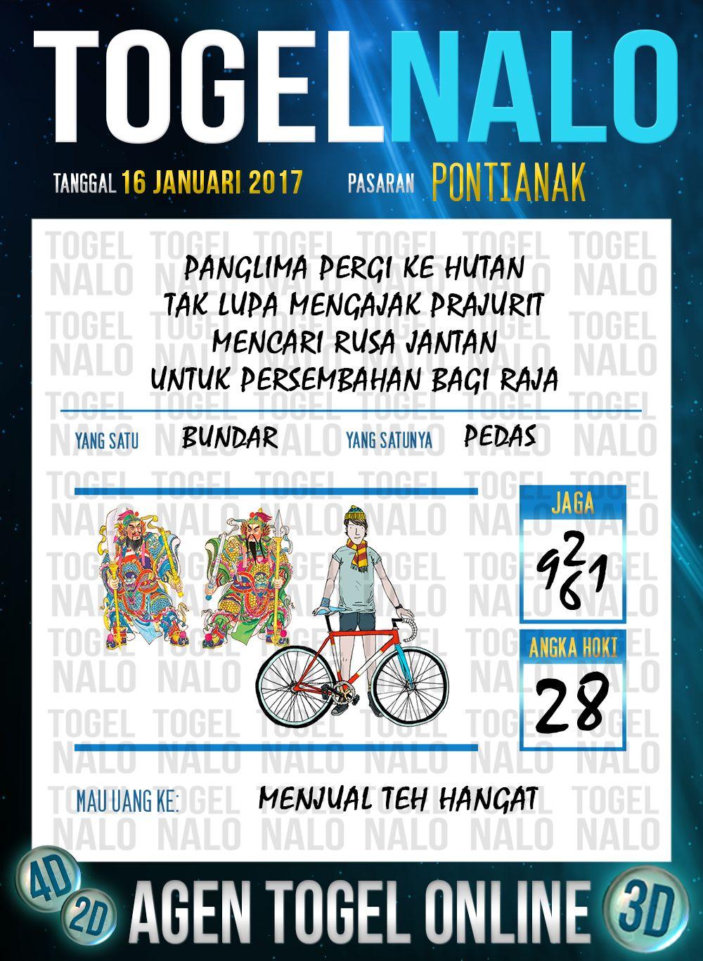 Kop Jitu 2d Togel Wap Online Live Draw 4d Togelnalo Pontianak 16 Januari 2017 Januari Nalu Yogyakarta