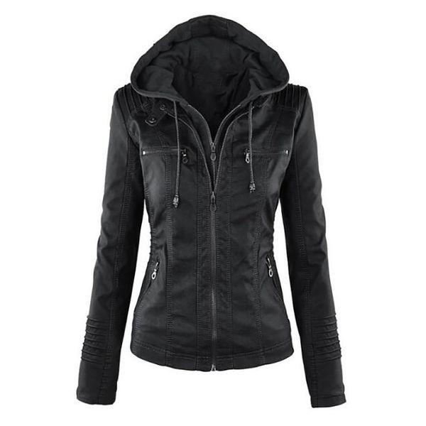 Jotebriyo Men Warm Winter Plain Faux Fur Hoodies Fleece Lined Parka Jacket Trench Coat