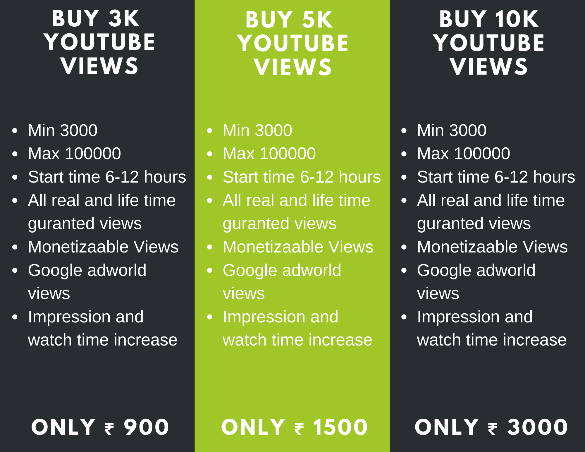 Buy YouTube Views in 2020 Youtube views, Professional
