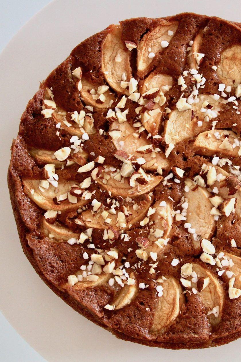 bagt æblekage opskrift
