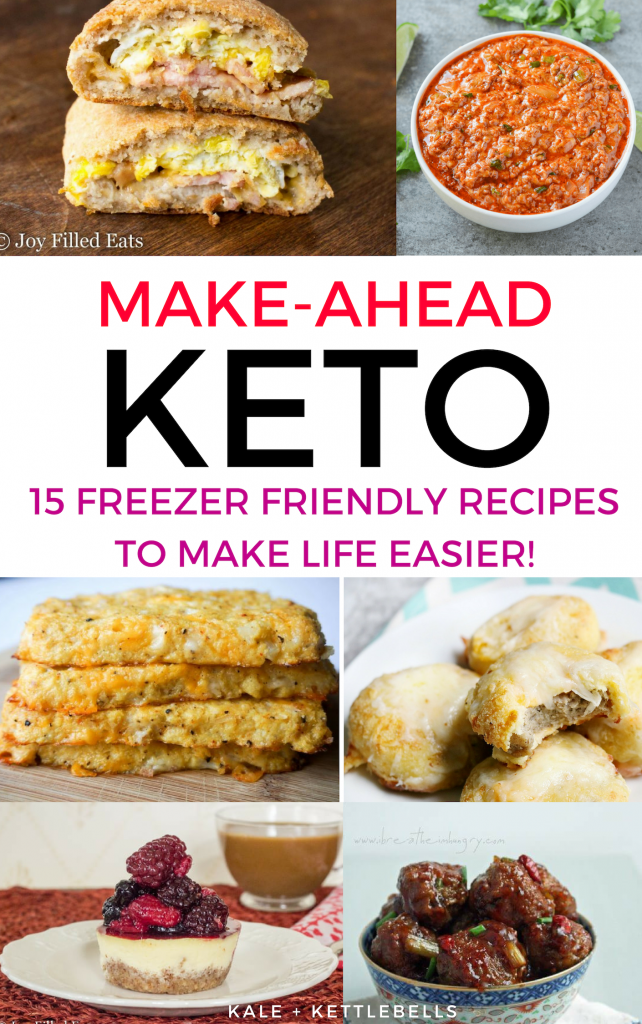 Low Carb Meal Planning: 15 Make Ahead Freezer Friendly Keto Recipes images