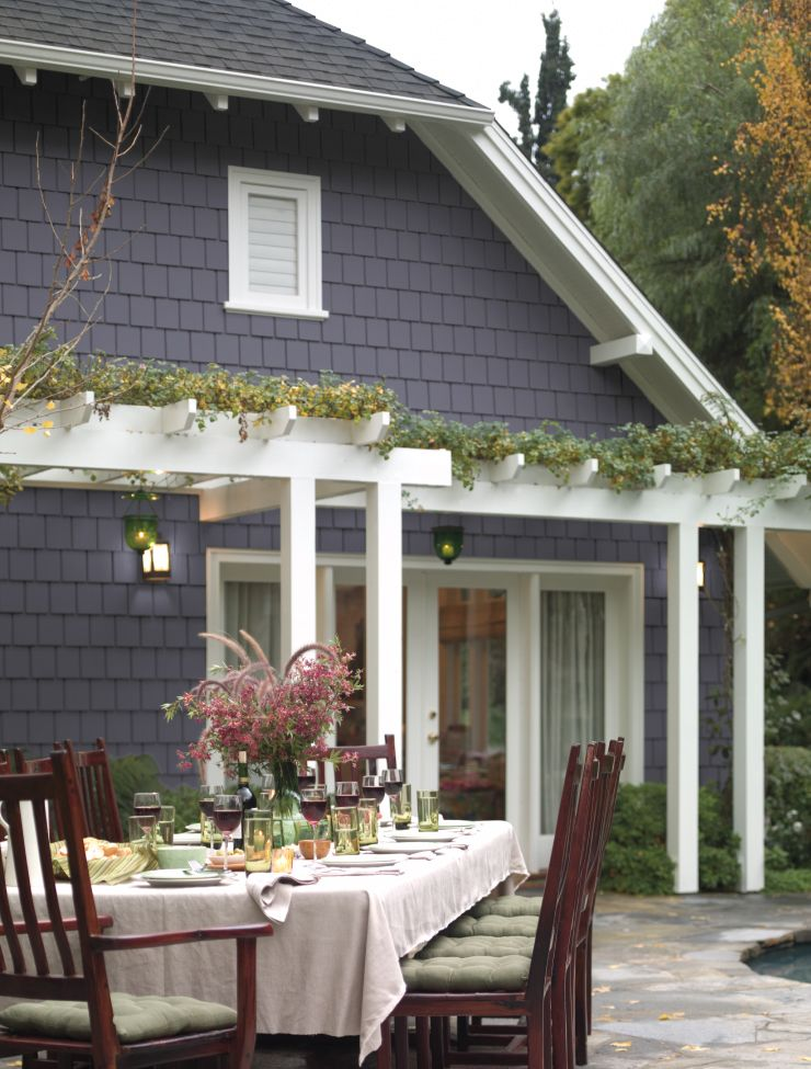 color of the month old amethyst colorfully behr house on behr exterior house paint photos id=20763