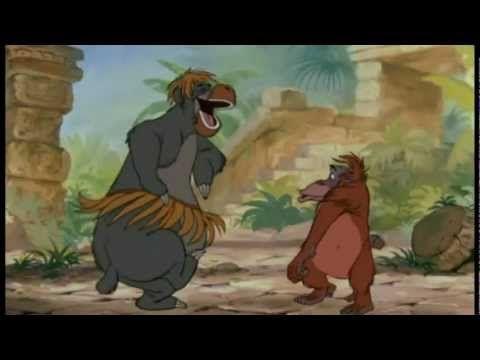 Das Dschungelbuch King Louie Ich War So Gern Wie Du Hq Dschungelbuch Kinder Lied Kinderlieder